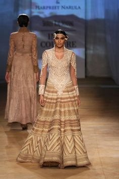 Rimple and Harpreet Narula. India Couture Week 2014.