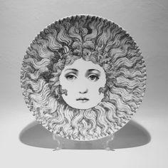 "Fornasetti Theme & Variation 8"" Plates"