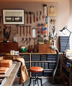 A Look at Anya Hindmarch Bespoke's workshop