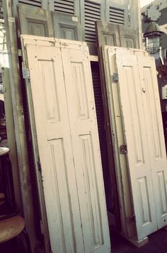 Woonbeurs 2013 - Burbri Antiek Old Doors and Shutters