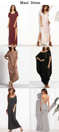 Maxi dress Boho Fashion, Fashion Outfits, Womens Fashion, Southern Style Dresses, Summer Outfits, Cute Outfits, Clothes Crafts, Spring Summer Fashion, Dress To Impress