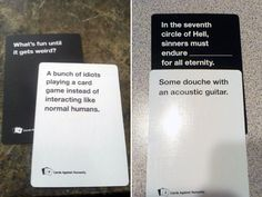 Best Cards Against Humanity Answers Funniest Cards Against Humanity, Cards Of Humanity, Cards Against Humanity Game, Stupid Funny, The Funny, Hilarious, Funny Stuff, Disney Cards, Disney Disney