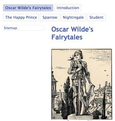 Oscar Wilde's Fairy Tales The Happy Prince and the Sparrow, along with the Nightingale and the Student, find themselves in the afterlife now, with life lessons that they want to share with all of us here on earth.  LINK: https://sites.google.com/site/wildeatheartsks/