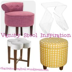 Image result for stool for vanity dresser