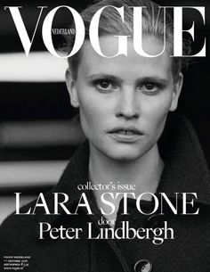 Lara Stone and Elisa Hupkes Star in Vogue Netherlands October Cover Story