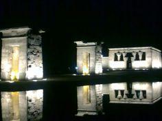 Templo de Debod, Madrid. España. De Lna