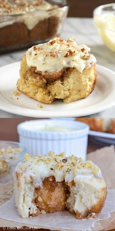 These no yeast Banana Nut Cinnamon Rolls can be made and on the table in under 45 minutes. These no yeast Banana Nut Cinnamon Rolls can be made and on the table in under 45 minutes. Breakfast Pastries, Breakfast Bake, Breakfast Ideas, Breakfast Muffins, Breakfast Casserole, Fall Breakfast, Breakfast Healthy, Breakfast Recipes, Donut Recipes