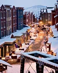 Food and Wine article   Ski Country's Newest Place to Party: Park City, Utah