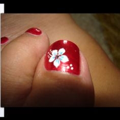 White toe Nail Designs New 50 Most Beautiful and Stylish Flower toe Nail Art Design Toe Nail Flower Designs, Nail Art Flower, Flower Toe Nails, Toenail Art Designs, Cute Toe Nails, Pedicure Nail Art, Toe Nail Art, Fall Pedicure, Hawaiian Nails