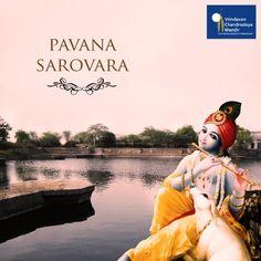 #VrindavanGlories: Pavana Sarovara, where Mother Yasoda used to bathe Lord Krishna.