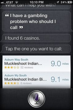 When she was an enabler. | 29 Times Siri Was Actually A Bit Of A Dick