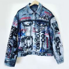 Custom Miss Fortune 1988 Denim Jacket Himumimdead Jackets ASAP Rocky
