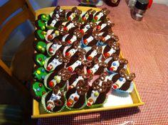 Afskedshavehygge inden jul til Hjaltes klasse, Rudolf småkager