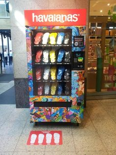 Thongs are even sold in vending machines. | 50 Reasons Why Australians Are The Luckiest People On Earth