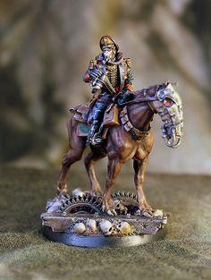 Krieg mounted Commissar Gamma 19326 by Scott Steinhart, via Flickr