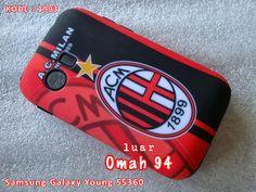 Kode Barang 1993 Jual Otterbox Commuter Case Samsung Galaxy Young S5360 AC Milan | Toko Online Rame - rameweb