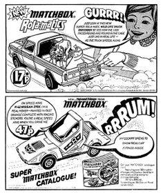 Matchbox Ad 1973 by combomphotos, via Flickr