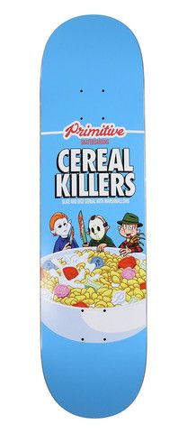 """Cereal Killers Deck - 8.0"""" Hehe awesome"""