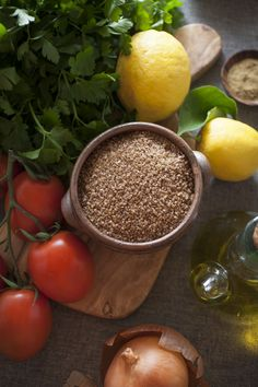 Tabouleh anyone? http://fornetto.com/recipes/an-unusual-salad/