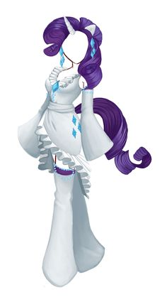 Rarity Cosplay Concept for my friend Elisa! my little pony rulez….