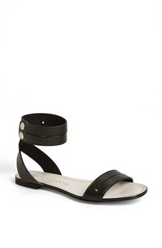 Pedro Garcia 'Etel' Ankle Strap Flat Sandal available at #Nordstrom $440