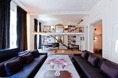 An Apartment by Isabelle Stanislas on Rue de Rivoli, Paris, FR | Yatzer