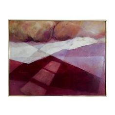 Pre-Owned Abstract by Beverly Furman ($1,299) ❤ liked on Polyvore featuring home, home decor, wall art, abstract home decor, abstract wall art and abstract painting