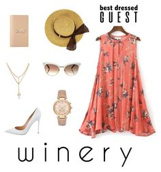 """""""Best Dressed: Winery"""" by jazzy-9 ❤ liked on Polyvore featuring Gianvito Rossi, Yves Saint Laurent, Gucci, Michael Kors, napa, winerywedding, bestdressedguest and vineyardwedding"""