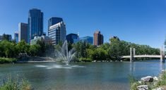 Prince's Island Park Canadian Nature, Island Park, Calgary, Prince, River, Landscape, Wall, Outdoor, Outdoors
