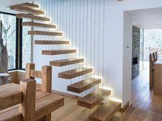 könnyűszerkezetes lépcső