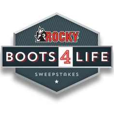 Rocky is giving you the chance to win a pair of Rocky boots every year for the rest of your life!