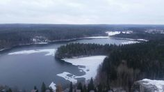 Lakes are beautiful Lusikkaniemi Hämeenlinna Finland november 2016