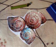 MOSAICOS MALLORCA: Mosaico Marino Mosaic Crafts, Mosaic Projects, Mosaic Art, Mosaic Glass, Mosaic Tiles, Stained Glass, Arte Pop, Mosaic Animals, Wall Murals