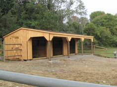 Beautiful barn!  http://www.woodtex.com/barns-and-run-in-sheds.asp