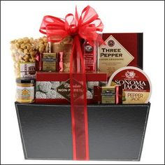 Gourmet Greetings - A Gourmet Gift for Him The Gift Basket Gallery