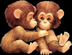 Kissing Monkey