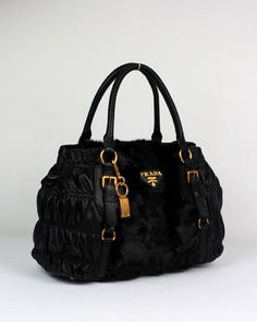 Prada, this is a gorgeous purse