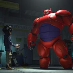 Big Hero 6 Not Part of Marvel Cinematic Universe   moviepilot.com. ---------LOLOL You absolutely must watch the trailer!!!!!! I was giggling like an idiot by the end!!!!!