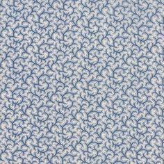Blue Cream Portsmouth Half Yard Fabric Bundle Moda Minick and Simpson