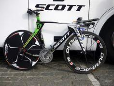 Dig the color & set-up - Pro bike gallery: Svein Tuft's Scott Plasma, I want!!!!!