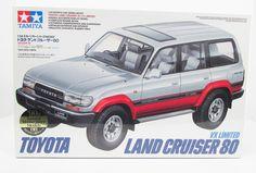 Toyota Land Cruiser 80 VX Limited Tamiya 24107 1/24 New Truck Model Kit