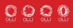 Olli Salumeria by Yael Miller, via Behance