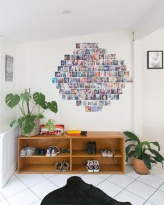 This Weekend: Stay Ahead of Clutter With This Straightforward System          LOVE THE PHOTO DISPLAY!!!!!!!!!!!