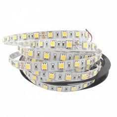 Αν ενδιαφέρεστε για αυτό το προϊόν επικοινωνήστε μαζί μας Ταινία+LED+14.4+Watt+60+smd+5050+Led+Θερμό+Λευκό
