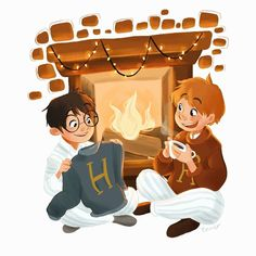 Harry potter and ron weasley hp in 2019 dibujos de harry pot Harry Potter World, Fanart Harry Potter, Images Harry Potter, Harry Potter Sketch, Harry Potter Poster, Mundo Harry Potter, Harry Potter Drawings, Harry Potter Wallpaper, Harry Potter Love