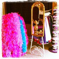 Princess palace. Tiara. Feather bower. Gold mirror. Throne.