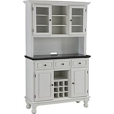 could I add a wine rack to my hutch? I think so....as I redo it, I won't put the middle door back on