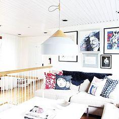 How greatly Vide - By Rydens works on upstairs by staircase   #byrydens #vide #sessak #sessaklighting #interiordesign #interiorstyling #interior #interiors #lighting #luminaire #valaisin #sisustus #interiorinspo #scandinaviandesign #scandinavianhome #homedesign #homedecor #interiorinspiration