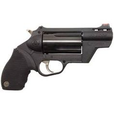 "Why didn't we think of this? It's a .410 shotgun, and it's a revolver. It also fires .45 Long Colt. This thing brings a new meaning to the word ""hand cannon."""