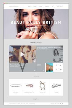 New Jewerly Desing Inspiration Fun Ideas Website Layout, Web Layout, Layout Design, Ui Ux Design, Logo Design, Branding Design, Graphic Design, Minimal Website Design, Website Design Inspiration